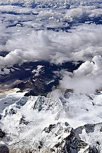 西藏雪山云海
