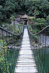 仙游九鲤湖铁索桥