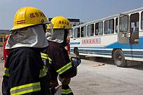 交通安全消防演练