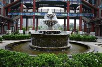 北京国粹苑喷泉