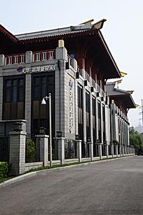 北京国粹苑外廊