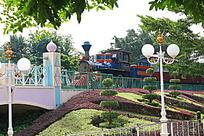 迪斯尼小火车