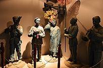 寿县民间艺术雕像