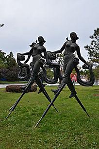 《盛大节日》铜雕