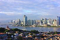 鼓浪屿与现代城市建筑