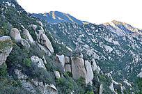 山上的石头美景