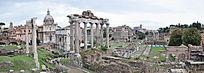 古罗马城中心遗址