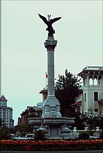 天津意式风情街欧式雕塑