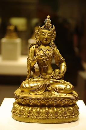 鎏金铜金刚萨埵坐像
