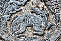南后街的动物石碑