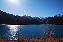天山与池水