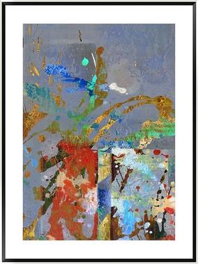 装饰画 抽象画 油画