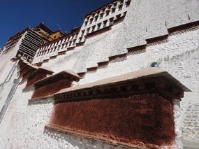 布達拉宮墻壁雕刻