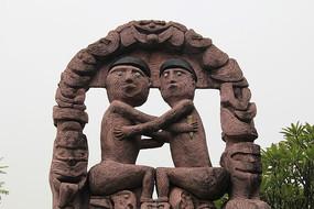 人物雕塑作品