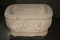 传统花纹浮雕水槽石具