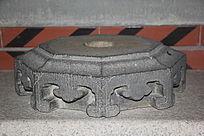 传统花纹六角石墩