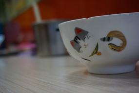 卡通猫的碗