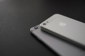 苹果iphone5和iphone6背面高清图片