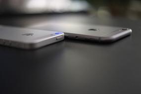 苹果iphone5和iphone6高清对比图