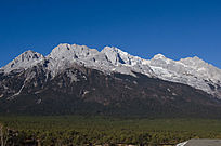 丽江玉龙雪山全景