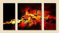 抽象画 装饰画 无框画
