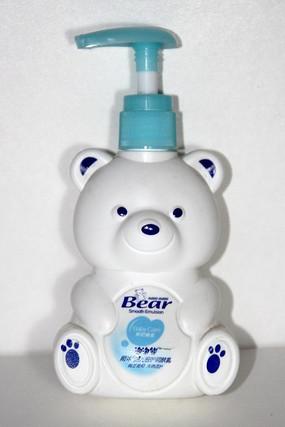 卡通熊熊儿童护肤乳图片