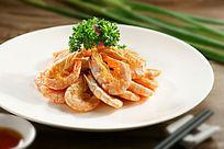餐饮美食图片菜肴图片宁波烤虾干
