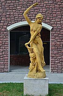 欧洲人物雕塑