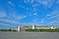 北京天安门广场历史博物馆侧景