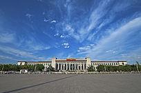 北京天安门广场历史博物馆全景