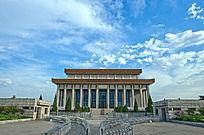 北京天安门广场毛主席纪念堂