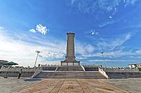 北京天安门广场人民英雄纪念碑全景