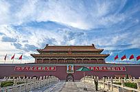 北京天安门正面