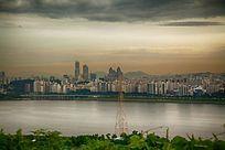 城市俯瞰摄影
