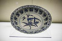 古代瓷器花纹盘