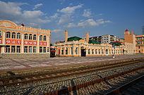 俄罗斯风格火车站