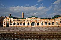 俄罗斯风格火车站全景