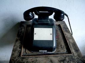 老式电话机 摆设 收藏