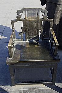 古代椅子雕塑