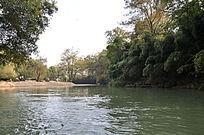 九曲溪美丽的景色