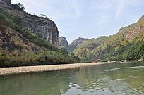 山清水秀的九曲溪美景