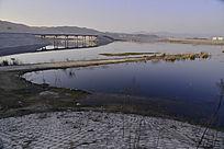 被汉江淹没的十堰郧阳公路