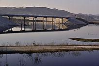 被淹没的十堰郧阳公路