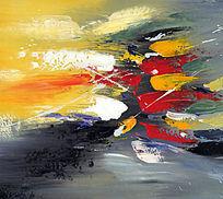 无框画 手绘 油画