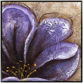 抽象 油画 花卉油画