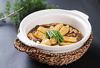 杂菌烧豆腐