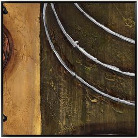 装饰画 抽象 油画
