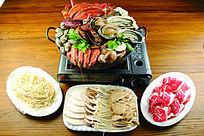 火锅豪华海鲜套餐