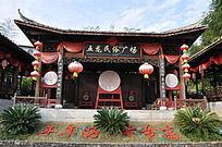 五龙民俗广场建筑