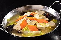 锅仔白菜炖豆腐